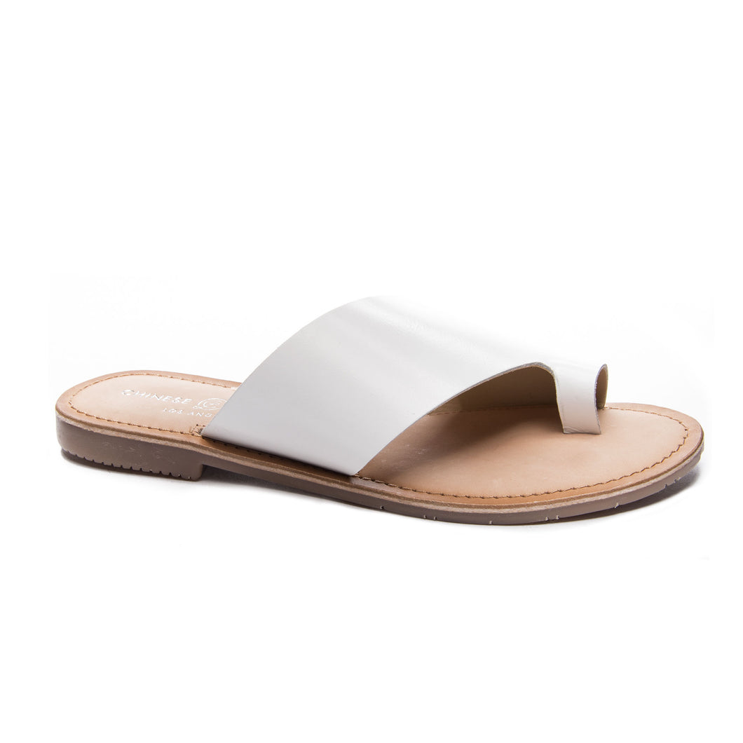 Gemmy Cow Leather White