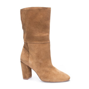 Honey Brown Suede Boots
