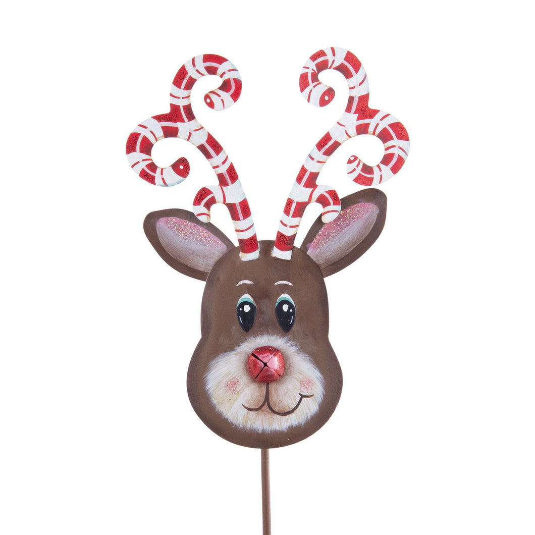 Candy Cane Reindeer-Lg