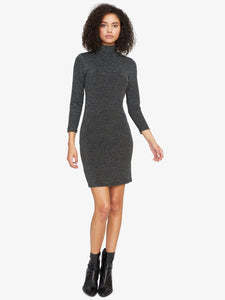 Black/Silver Forget Me Not Dress