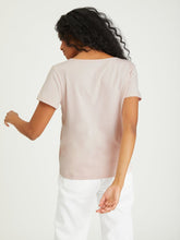 Lotus Soft Vneck Tee