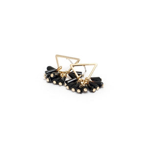GD-Confetti Triangle Earrings