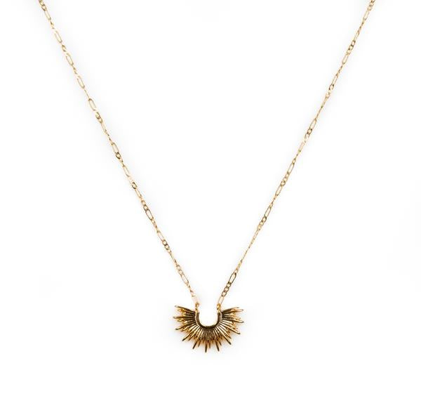 Mini blaze necklace