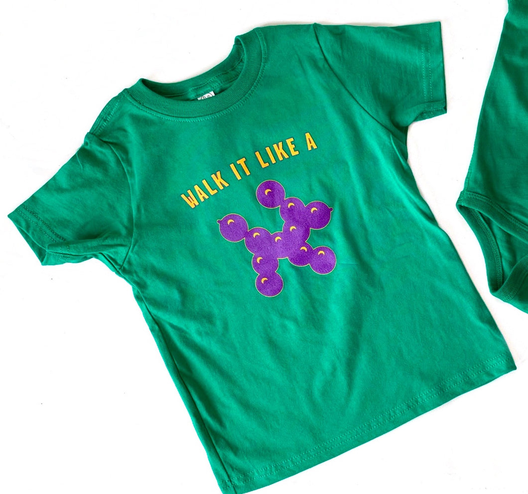 Walk It Mardi Gras Tee