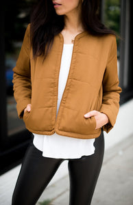 Caramel Puff Jacket