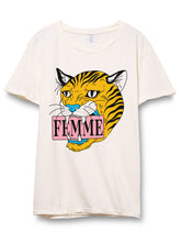 Fierce Femme Distressed Tee