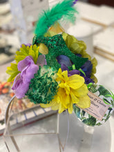 Mardi Gras Headpiece w/ Mask