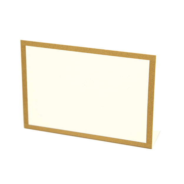 Gold Foil Frame Place Card