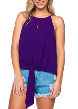 Purple Candice Tie Top
