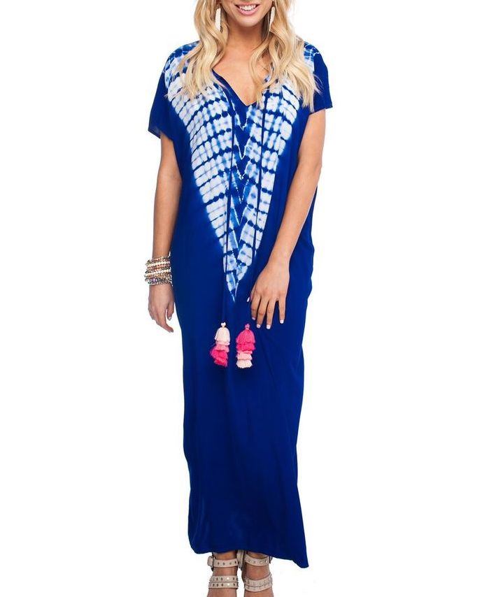 GD Royal Tie Dye Maxi
