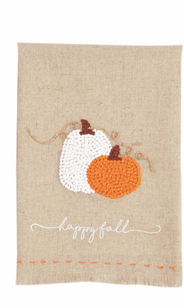 Happy Fall Pumpkin French Knot Twl