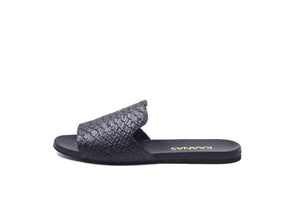 Black Leticia Snake Slide