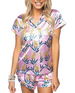 Jungle Cat Pajama Set