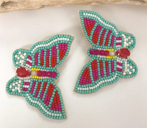 Mayorca Turquoise Butterfly Earrings
