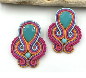 Bella Multi Beaded Studs