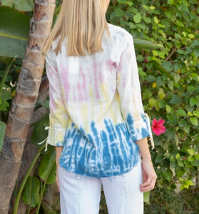 Tie Dye L/S Pocket Shirt