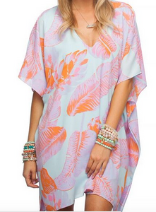 GD Blue/Orange Palm Tunic