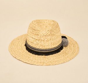 Natural Fedora Fringe