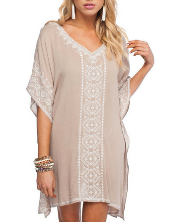 GD Coco Tan Tribal Tunic