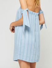 GD Bella Chambray Stripe Dress