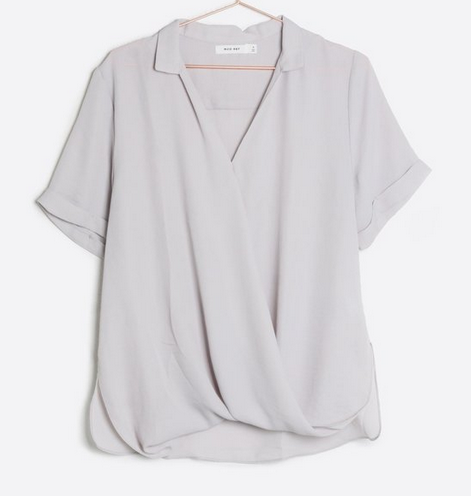 The Mulberry Top-Grey