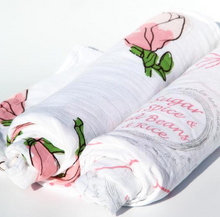 Louisiana Girls Swaddle Set