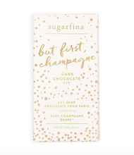 But First, Champagne Dark Chocolate
