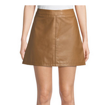 Marrie Dark Camel Skirt