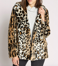 Seeing Spots Faux Fur Coat