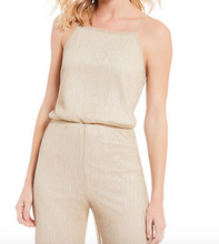 Campbell Metallic Gold Jumpsuit