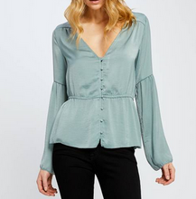 Mint Abigale Top