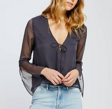 Shadow Blue Luna Top