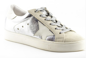 Metallic Star Tennis Shoes – Lucy Rose