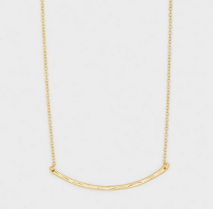 Taner Gold Bar Small Necklace