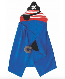 Pirate Hooded Towel