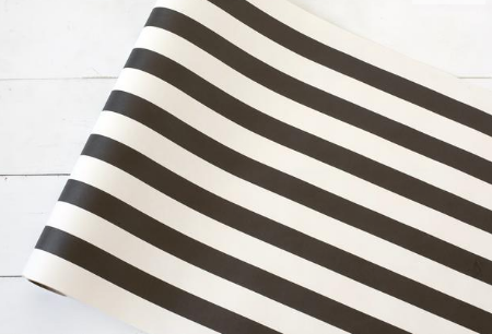 Black Stripe Runner