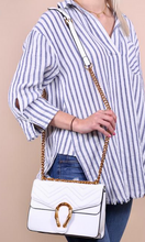 White Horse Shoe Crossbody