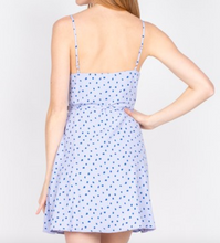 Lavender Polka Dot Wrap Dress