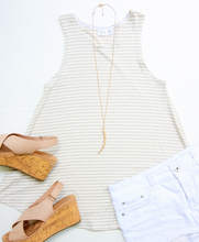 Sandy Stripe Tank