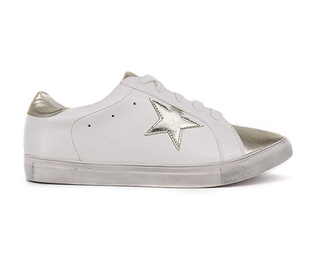 Salome Gold Star Sneaker