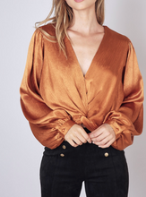 Twist Front Cropped Top