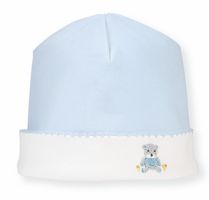 French Knot Blue Bear Set