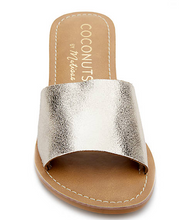 Gold One Strap Slides