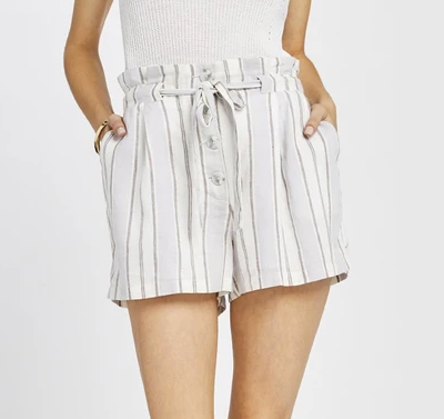 Grey Stripe Whiteleaf Short