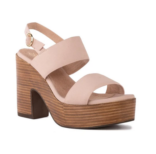 Pink Pleased Platform Sandal