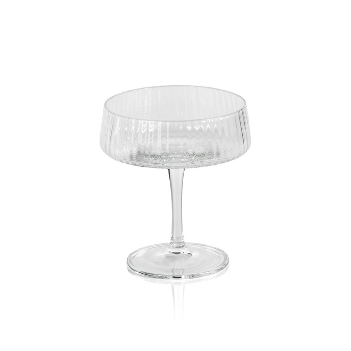Fluted Textured Martini Glass