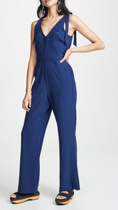 Topeka Lapis S/L Button Jumpsuit