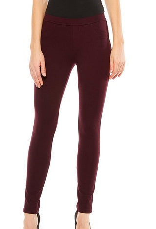 Dark Shiraz Grease Leggings
