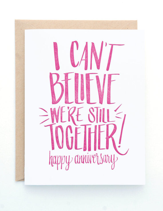 Still Together Card