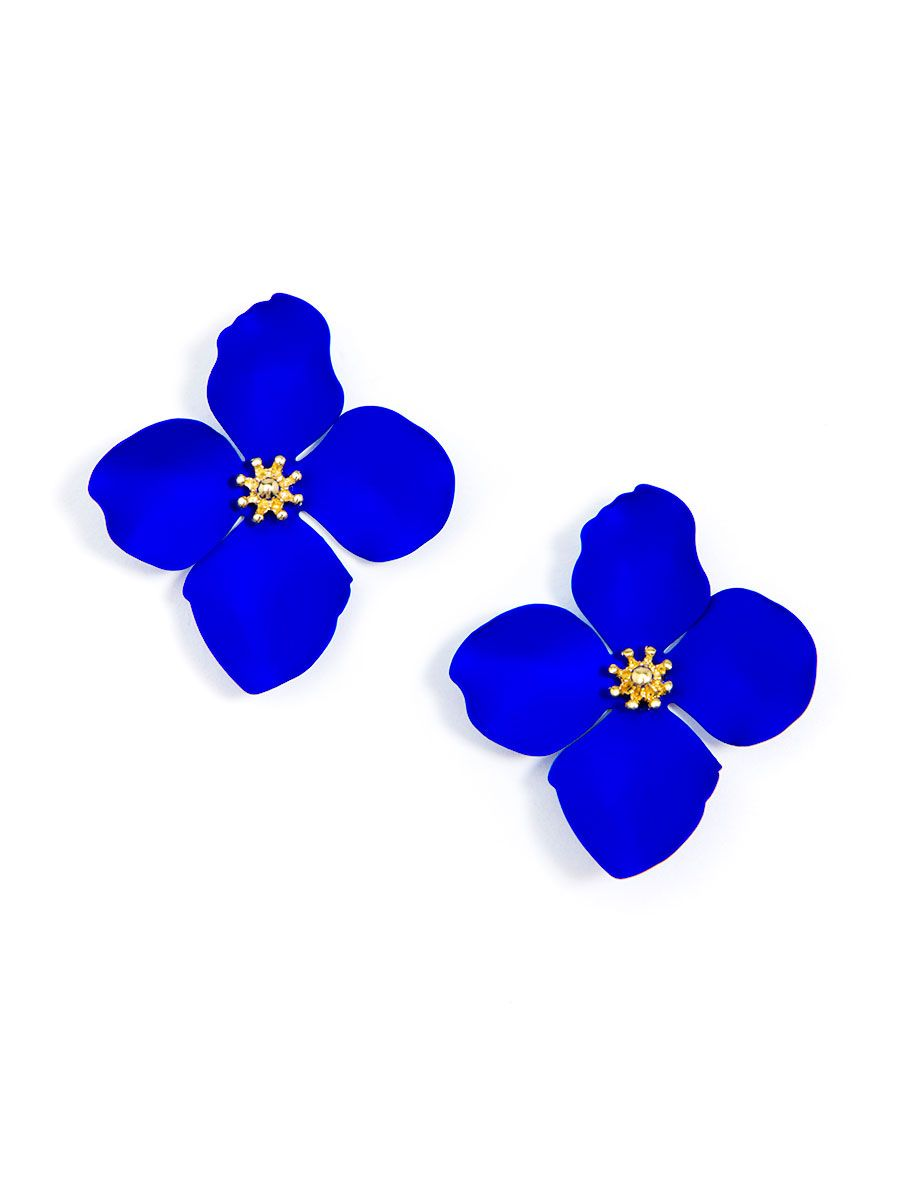 MR-Large Flower Studs